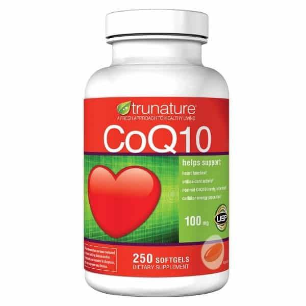 Viên thuốc chống đột quỵ của mỹ CoQ10 100mg