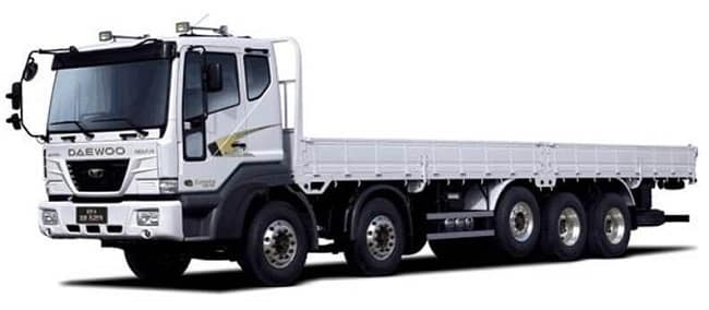 Xe tải 25 tấn Daewoo