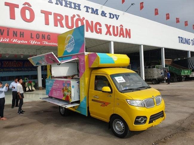 Xe tải Dongben bán hàng lưu động T30