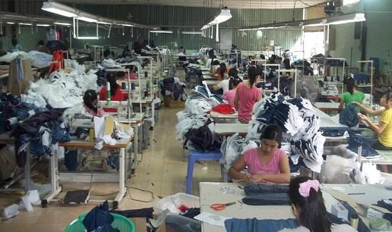 Xưởng áo thun Sỉ Tân Bình