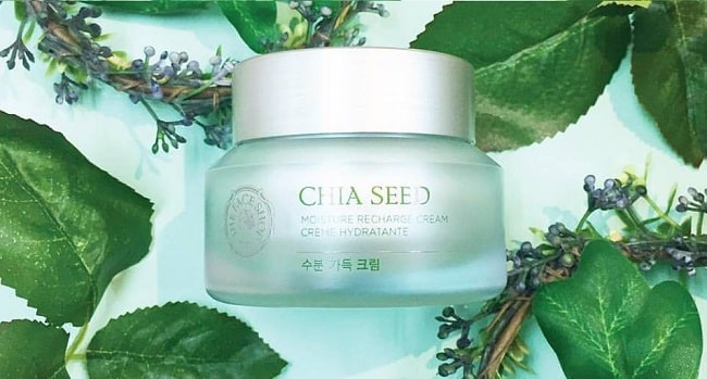 Kem dưỡng ẩm Hàn Quốc Chia Seed Moisture Recharge Cream
