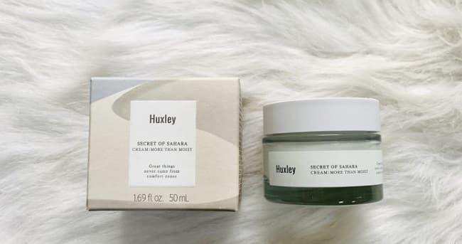Kem dưỡng ẩm Hàn Quốc Huxley Cream More than Moist