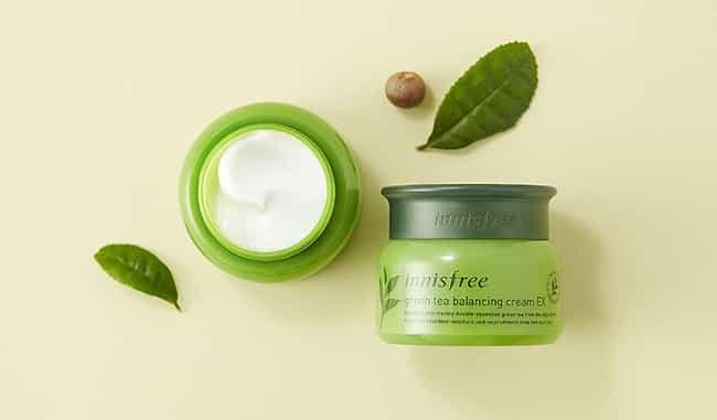 Kem dưỡng ẩm Hàn Quốc Innisfree Green Tea Balancing Cream EX