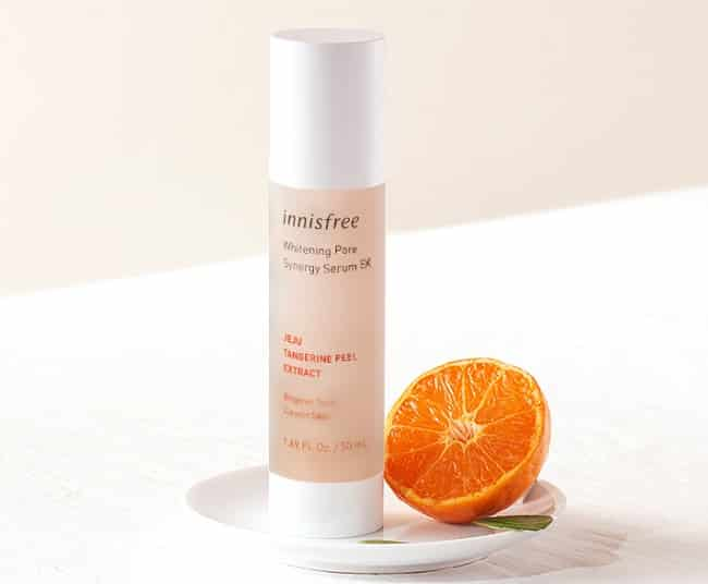 Serum dưỡng trắng da mặt Innisfree Whitening pore synergy