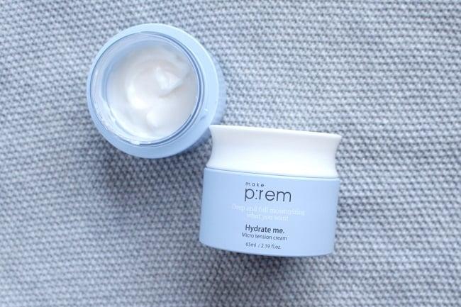 Kem dưỡng ẩm Hàn Quốc Make P:rem Hydrate Me. Micro Tension Cream