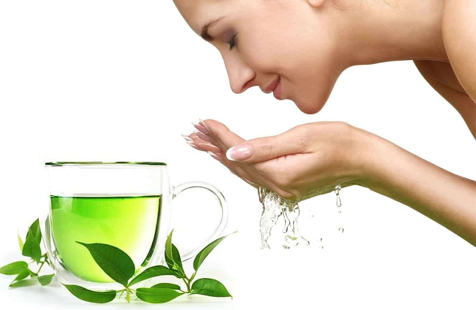 Cách chăm sóc da dầu bằng trà xanh