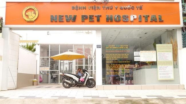 Top phòng khám thú ý Newpet Hospital
