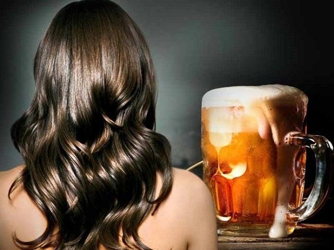 Gội đầu bằng bia và sữa tươi