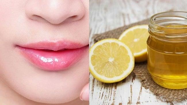 Cách chữa thâm môi bằng chanh