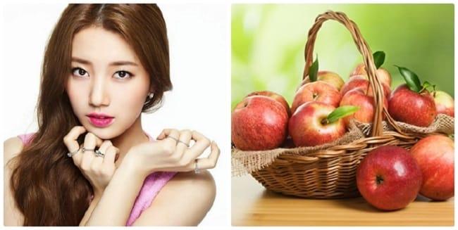 Cách làm hết thâm quầng mắt sau 1 đêm bằng táo
