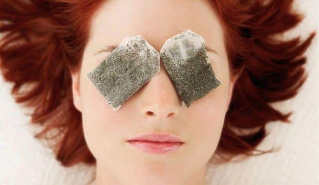 Cách làm hết thâm quầng mắt sau 1 đêm bằng trà túi lọc