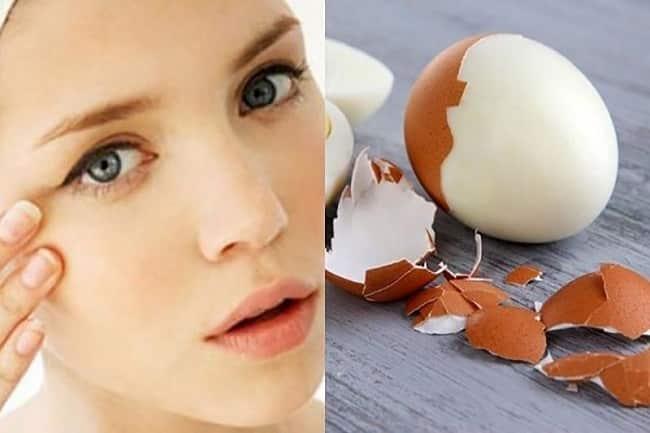 Cách làm hết thâm quầng mắt sau 1 đêm bằng trứng gà