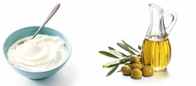 Cách ủ tóc tại nhà bằng dầu oliu và sữa chua