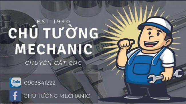 Chú Tường Mechanic- Chuyên cắt dây cnc, gia công cơ khí