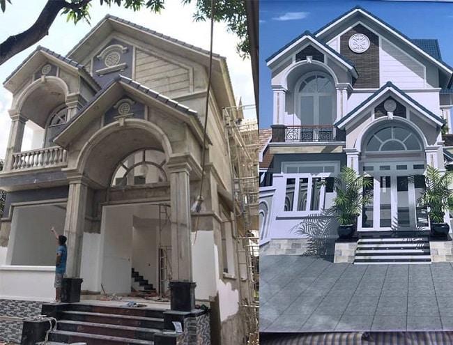 Công ty xây dựng nhà phố Lê Văn