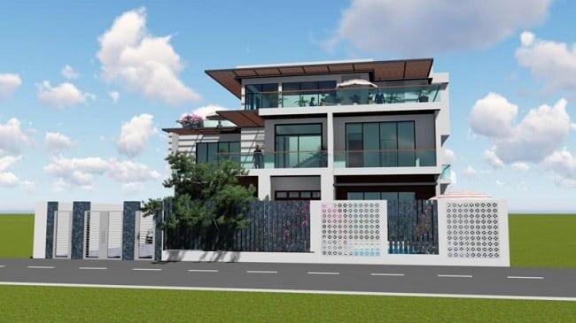 Công ty xây dựng nhà phố Bluecons