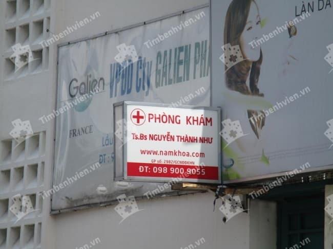 Phòng khám bác sĩ- tiến sĩ Nguyễn Thành Như