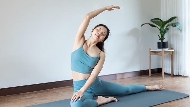 Tập Yoga giúp nâng cơ mặt