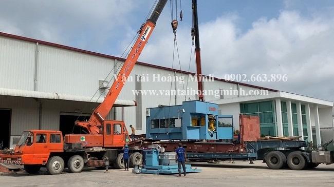 Công ty vận chuyển máy móc Hoàng Minh