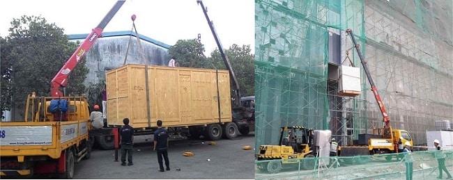 Vận chuyển máy móc Thái Hùng