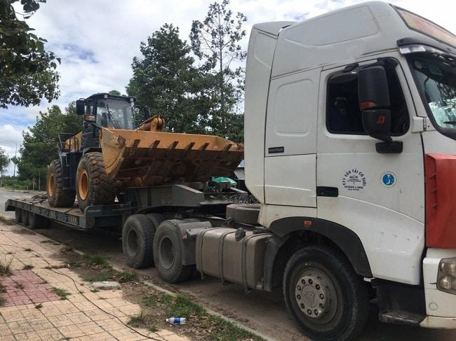 Công ty vận chuyển máy xúc máy đào Hưng Thịnh