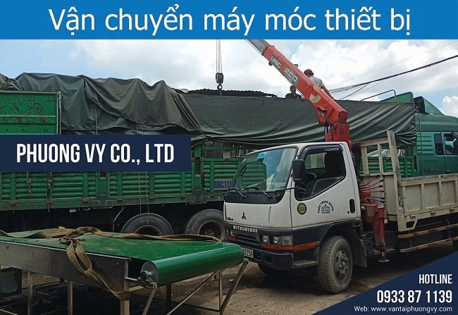 Công ty vận chuyển máy móc Phương Vy