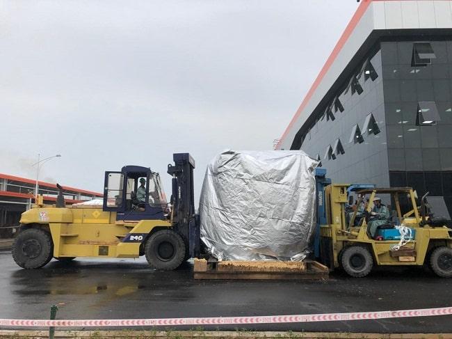 Công ty vận chuyển máy móc sài gòn