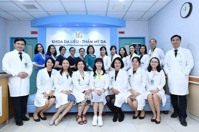 Khoa Da liễu – Thẩm mỹ của Bệnh viện Đại học Y dược TPHCM
