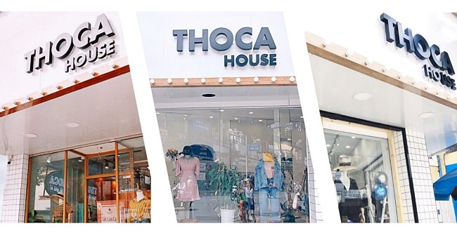THOCA House - Shop thời trang nữ cao cấp tại TPHCM