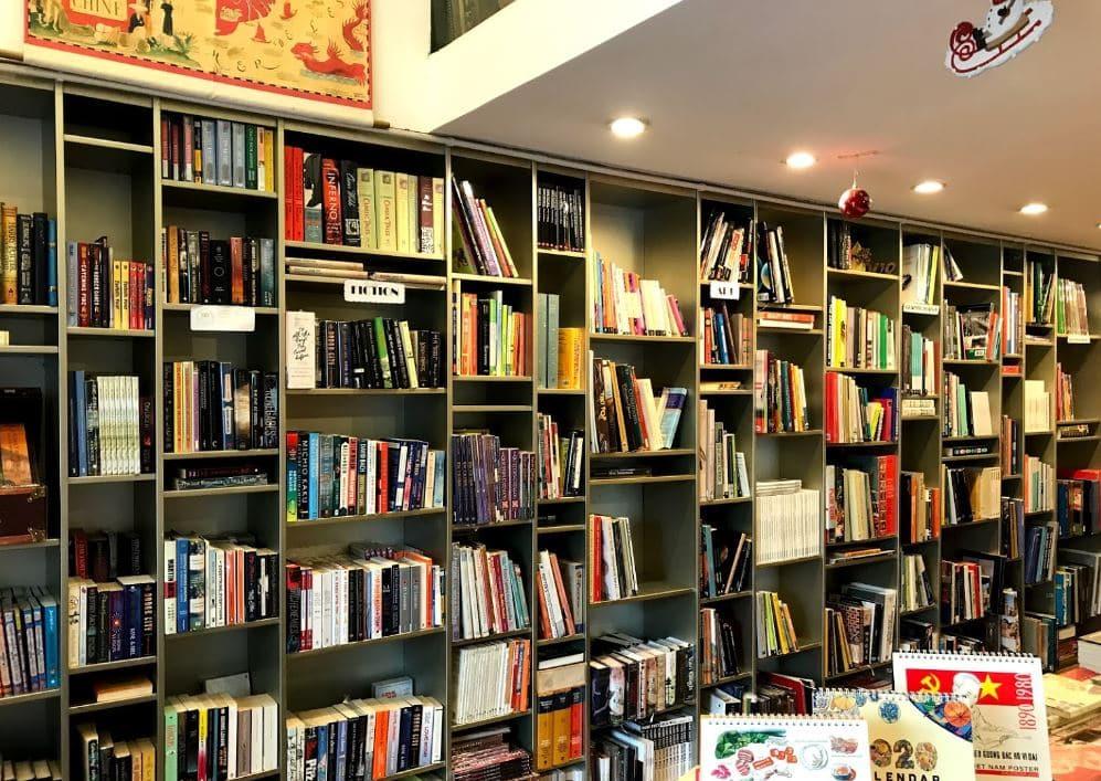 Không gian của nhà sách Artbook