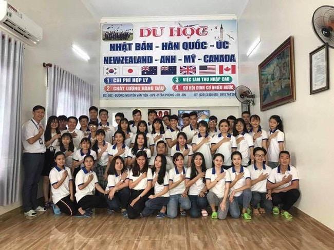 Học viên tại Trung tâm Thanh Giang