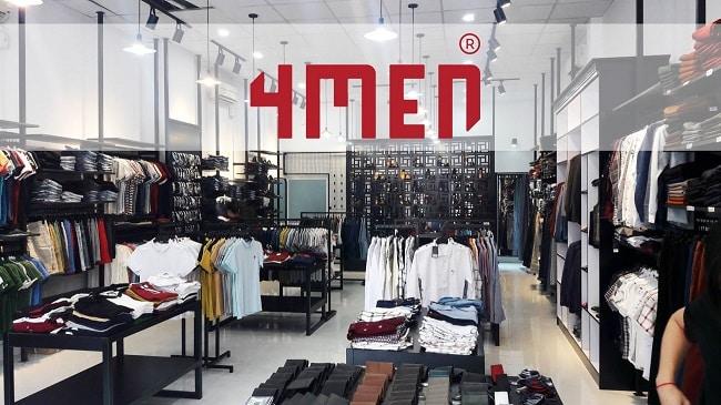 Không gian tại 4men Shop