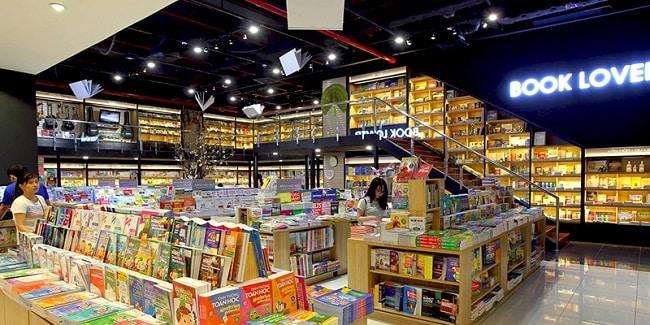 Không gian tại Nhà sách Phương Nam