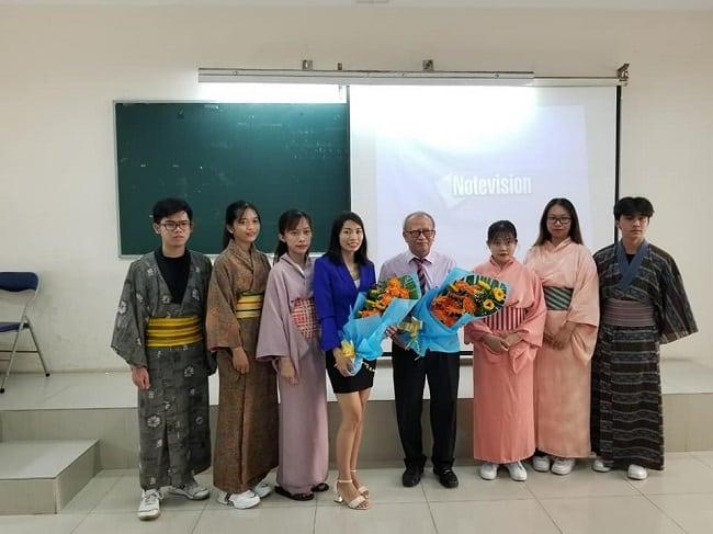 Lớp học tại Trung tâm ngoại ngữ Thanh Niên