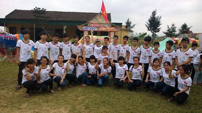 May áo đồng phục Thiên Việt