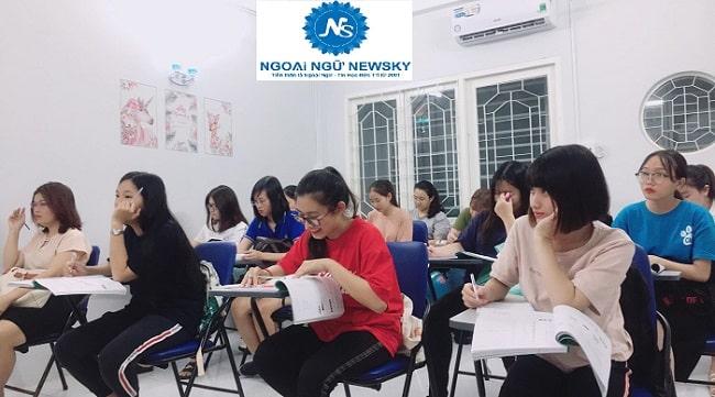 Lớp học anh ngữ Newsky