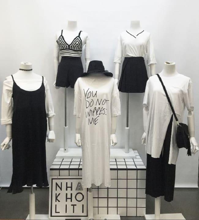 Shop thời trang nhà kho Liti