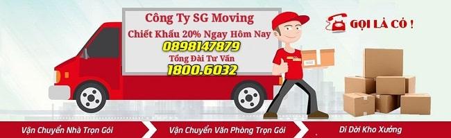 SG Moving - Chuyển kho xưởng