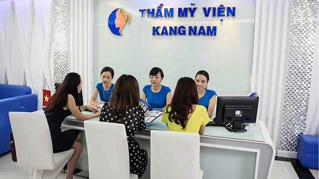 Thẩm mỹ viện Kangnam tư vấn