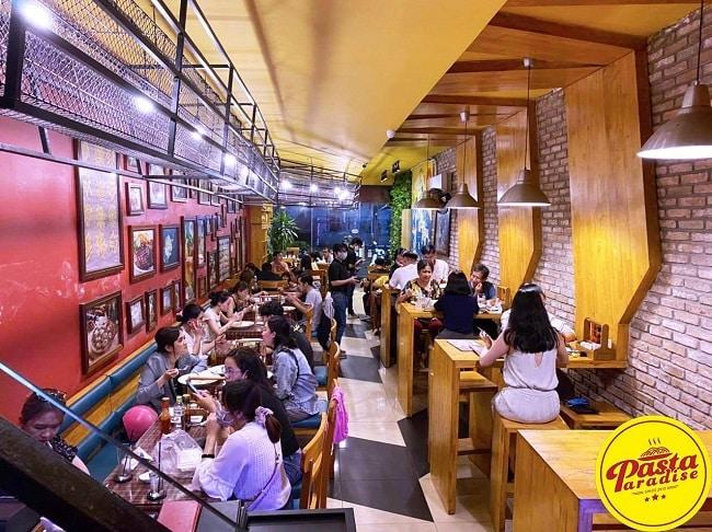 Pasta Paradise - thương hiệu pizza ngon tại TPHCM