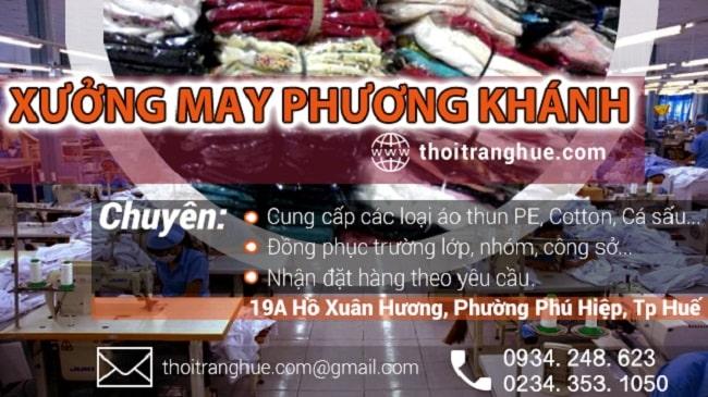 Xưởng may Phương Khánh
