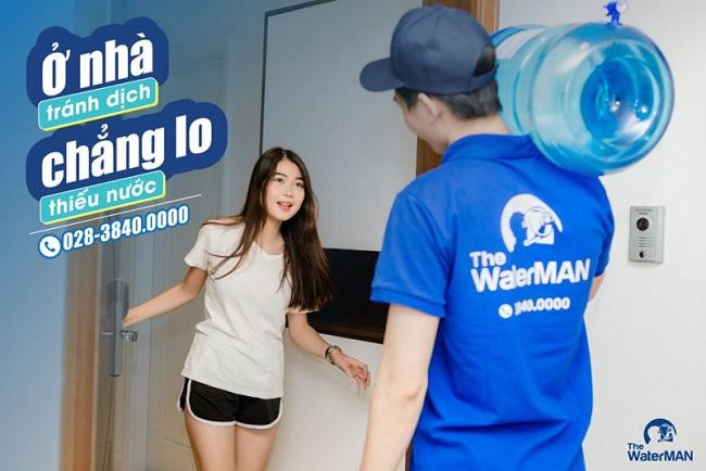 The Water Man giao nước tinh khiết tại nhà