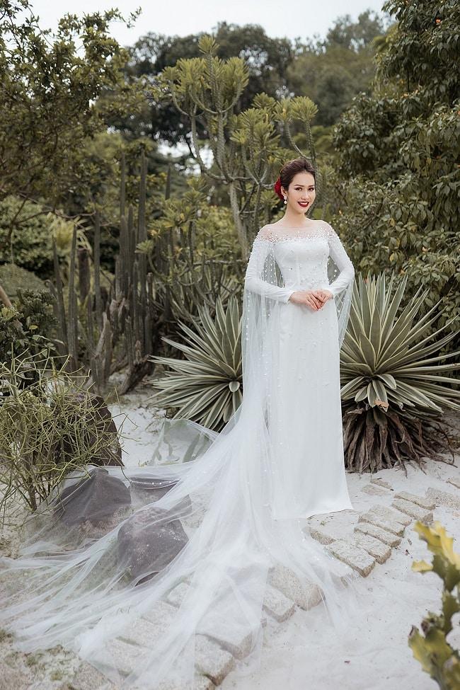 Áo dài cưới tại LAHAVA