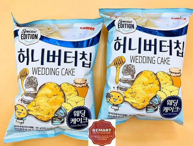 Bánh Hàn Quốc tại BeMart