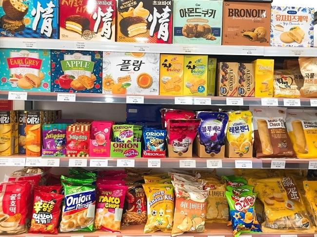 Bánh kẹo Hàn Quốc tại Tèobokki Store