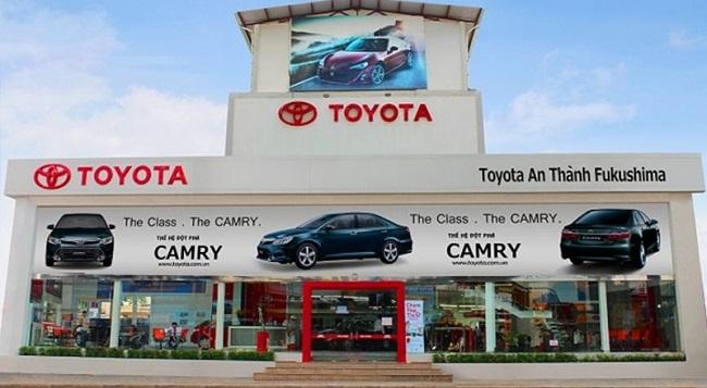 Công ty ô tô Toyota An Thành Fukushima