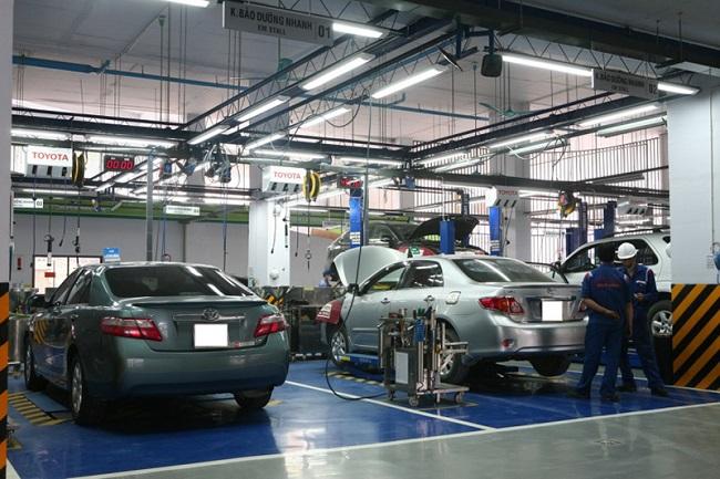 Cửa hàng Đại lý Toyota Hùng Vương