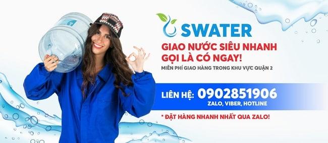 Giao nước tại nhà Swater