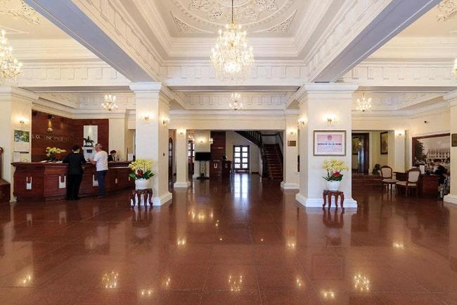Không gian tại Hotel Continental Saigon