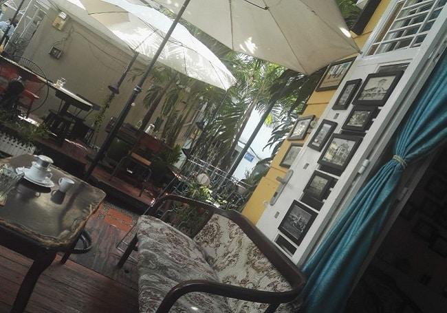 Không gian Saigon POTO cafe